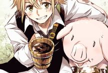 Nanatsu no Taizai / Why can't ever... protect... The peapol precious to me...? ~King
