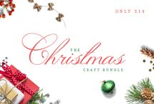 The Christmas Craft Bundle / You asked for it, so here it is! The Crafters Christmas Bundle! Packed full of 44 fun and festive designs for only $14. All files are ready to cut and come with a full commercial license. So, get crafting!