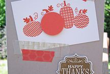 Stampin' Up! Fall/Thanksgiving Projects