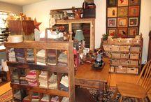 Rug Hooking Room Someday