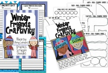 2nd grade ~ winter things / by Kiley Best