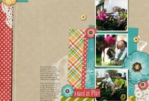 Layout Inspiration - 3 photos / by Clever Monkey Graphics