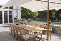 Outdoor shades/ canopies