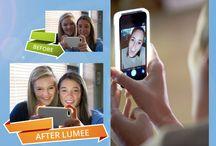 iPhone 6 / 6s LED Selfie case Illuminated Light Phone Case - White