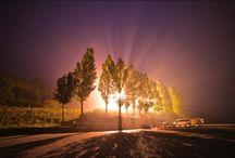 Madrugada em Almourol / Nevoeiro matinal