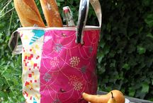 Sewing shopping bags