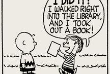 Bookish fun / Literary humor and fun.