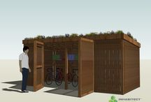 Small 'Green Roof' Structures by Inhabitect, LLC / Inhabitect is a full-service firm devoted to designing, building and growing all forms of living architecture. We specialize in green roofs. Here are the small structures that will be available the Spring of 2015. Contact us at info@inhabitect.com with any questions.