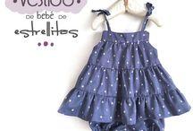 Patrones y costura de bebés