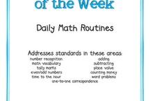School is Cool - Math Stuff / by Kay Neuse