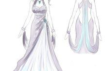 šaty pro anime