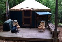 Yurts / Yurts are a cool option for alternative and green building structures. / by Kelley Ficklin