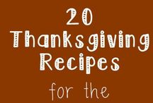 GOBBLE GOBBLE / Thanksgiving recipes and posts from my blog I See Hungry People as well as other posts and inspiration from other pinners and bloggers.  One of my fave holidays!