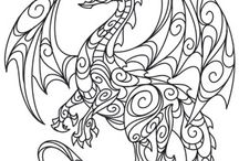 Colouring Pages and patterns / Colouring pages coloring pages craft patterns vintage patterns
