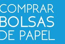 ComprarBolsasDePapel.es / Comprar bolsas de papel es muy fácil: ➀ Elige el modelo de bolsa de papel ➁ Sube tu diseño ➂ Realiza el pago ➃ Recibe tus bolsas en tiempo record.