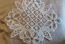 Romanian point lace / Table cloths