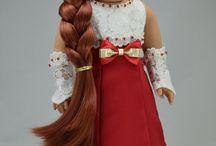 Fancy dresses for dolls