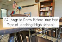High School Teaching