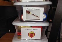 Teaching:  Task boxes and File folder / Independent learning for learners with special needs