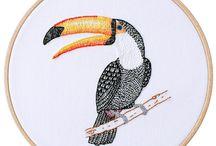 Embroidering / Sticken