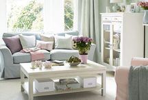 Pastelovy salon / Pastel living room