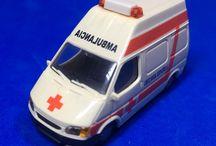 Ambulancias cruz roja 1/87
