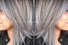 Grey Hair Highlights