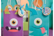Little Monsters Birthday Party / Little Monsters Themed Birthday Party! Party printables or we offer print, cut, and ship in the US.