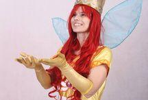 Child of light Aurora cosplay / My Aurora cosplay - III place on BXmass con 2014 photo by Norman Lenda / Pinkspider