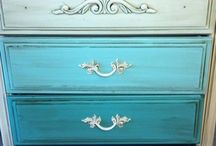 Chest of draws makeover