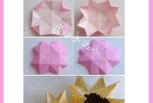 origami csomagolás