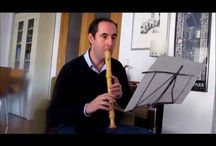 Recorder Music. / Medieval to Baroque Recorder music.  Alto and Soprano Recorders.