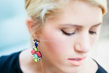 Statement Earrings / See how you can style statement earrings with your every-day outfits.