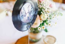 music wedding inspirations