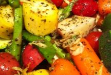 Roast veggie dishes