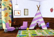 Salle De Jeu - (Sims 3)