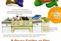 Kitchen Safety Tips / Basic rules of kitchen safety