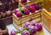 Raspberry Napolean French Pastry