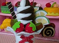 Ice cream felted