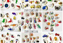 Preschool: Story stones