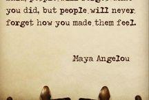 Wise women said it.