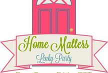Linky Parties / A collection of linky parties that allow bloggers to link up their posts for FREE.
