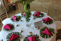 Shahfy and Aaron's wedding  decorations