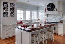 My dream white kitchens