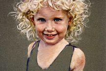 Pastel - portrait
