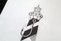 Татуировки с маяком