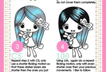 Copic Coloring Tutorials / A board of copic coloring tutorials using Stamp Anniething images