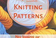 Gratis strikke mønster