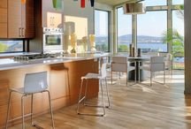 Contemporary Modern Wood Look Tile Flooring / Contemporary Modern Wood Look Tile Flooring