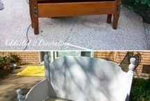 Reciclaje barandas camas a sillas